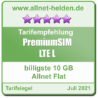 Billigste 10 GB Allnet Flat - allnet-helden.de