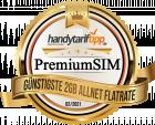 Günstigste 2 GB Allnet Flatrate PremiumSIM - handytariftipp.de