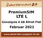 Günstigste 6 GB Allnet Flat - allnet-flat-vergleich-24.de