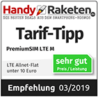 LTE M Preis/Leistung sehr gut