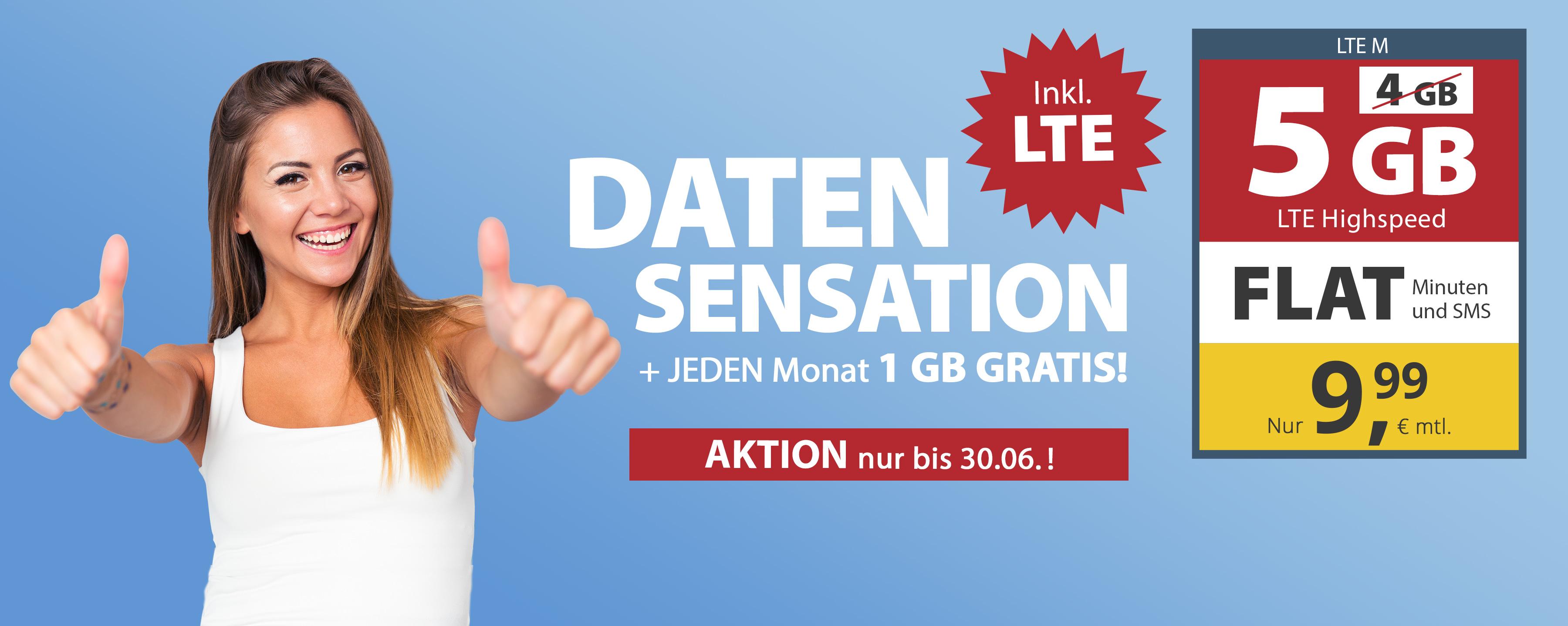 AKTION 1 GB Gratis