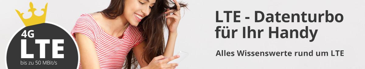 4G - Datenturbo für Ihr Handy