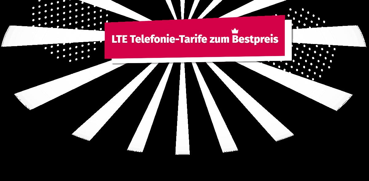 LTE Telefonie-Tarife zum Bestpreis